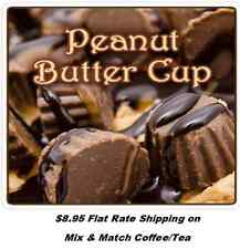 Peanut Butter Cup Flavored Coffee- Freshly Roasted -  1/2 lb - 5 lbs