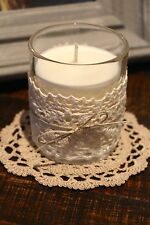 Scented Natural Soy Wax Candle Hand Poured Glass Jar - Pick Your Own Scent