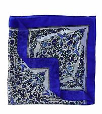 Paisley Silk Square Pocket or Neck Scarf