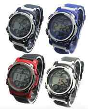 WRIST WATCH CHILDRENS WATERPROOF BOYS MENS DIGITAL SHOCKPROOF STOP WATCH ALARM