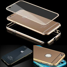 Metal Bumper Frame Hard Case Cover Skin Housing Protector fr iPhone 6 6S Plus 5S