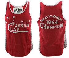 Roots of Fight Cassius Clay 1964 Striped Tank  S-3XL