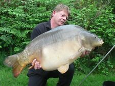 """SUPERB CARP FISHING IN FRANCE, """"SO FAR NO ONE HAS BEEN DISAPPOINTED""""."""