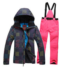 New Gsou Snow Warm Waterproof Grids Outdoor Ski Suit Jacket or Pants