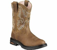 Ariat Women's Tracey Pull-On Roper Toe Cowgirl Boot