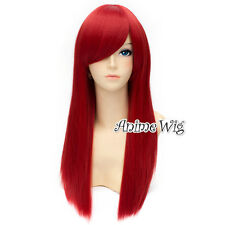 New Style 55cm Long Straight Women/Lady Party Cosplay Anime Full Wig Hair Gift