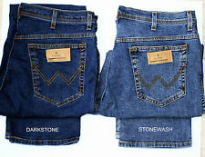 MEN'S W12133009 WRANGLER ICONIC TEXAS STRETCH REGULAR FIT JEANS 2 COLOURS .