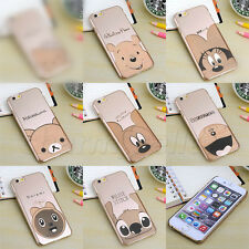 Thin Luxury Gold Cartoon Disney Hard Plastic Case Cover for iPhone 5 5S 6/6 Plus