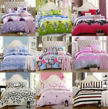 Newest Cheap Soft Bedding Set Twin Full Cover&Pillow Case&Bedspread Bed Sets