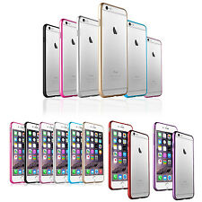 "Aluminium Metal Steel Hard Case Cover Bumper For Apple iPhone 6 Plus 5.5"" & 4.7"""