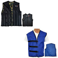 TurnerMAX Weighted Vest Jackets Removable Exercise Fitness Gym Strength Training