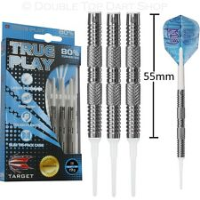 Target True Play 80% Tungsten Soft Tip Darts - Long 55mm Barrel
