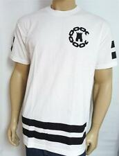 Crooks & Castles Chain C 85 Double Logo Graphic Tee Mens White T-Shirt New NWT