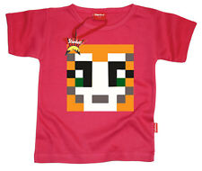 Kids Childrens Girls Mr Stampy Cat StampyLongNose YouTube T-Shirt Gift (Pink)