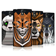 HEAD CASE DESIGNS ROBOTIC ANIMALS CASE COVER FOR ONEPLUS ONE