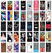 For Sony Xperia Z L36H L36i L36 C6603 Printed Plastic Protect Hard Case Cover