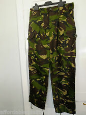 British Army Surplus Woodland 95 Pattern DP Combat Trousers Lightweight