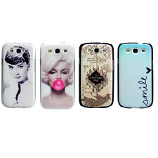 Sexy Marilyn Monroe Hepburn Hard Snap-On Case Cover For Samsung Galaxy S3 I9300