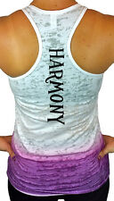 Harmony Ombre Burnout Racerback Tank Top, Fitness, Yoga, & Workout Shirts & Tops