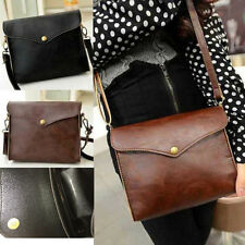 Women PU Leather Satchel Crossbody Messenger Bag Shoulder Taptop Bag Handbag