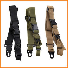 Adjustable 3Three Point Tactical Rifle Sling Airsoft Paintball Hunting Gun Strap