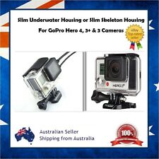 GoPro Hero 4 / 3+ / 3 Slim Underwater Waterproof Housing Case or Skeleton Ported