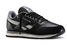 REEBOK CLASSIC LEATHER RE M41832 BLACK MEN SHOES SNEAKERS