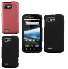 Hard Rubbreized Case Protective Shield Cover For Motorola Atrix 2 MB865 AT&T