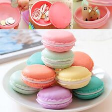 Newest Macaron Jewelry Earring Stud Necklace Storage Case Cosmetic Make-up Box