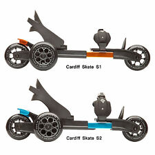 NEW with Box - 2014 Cardiff Skate 3-Wheel Skates S1, S2  - Color: Orange, Blue
