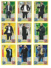 Match Attax England 2014 World Cup Trading Cards Individual 'Manager' Cards
