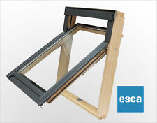 Velux/Duratech Means of Escape Top Hung Roof Window 780 x 980mm with Flashing