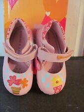 AGATHA RUIZ DE LA PRADA PINK TODDLER  CASUAL SHOES NEW IN ORIGINAL BOX