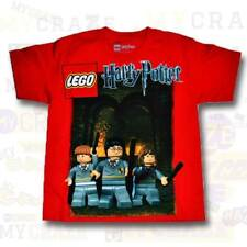 HARRY POTTER LEGO Red Boys Kids Youth T-Shirt Size 4-5 6-7 8-9 10-12 14-16