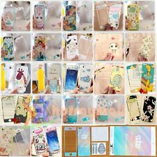 Cute Style Front&Back Screen Protector Decal Skin Sticker For iPhone 4 4S 5 5S