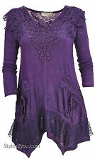 Pretty Angel Clothing Lola Tunic In Purple 10770PU