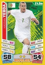 Match Attax England 2014 World Cup Trading Cards (ALGERIA-Base) 2