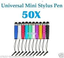 50X Universal Capacitive Touch Screen Mini Stylus Pen For iPhone iPad Note Tab