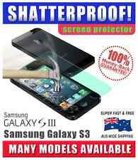 Shatterproof Screen Protector for Samsung Galaxy S3 ** NO MORE BROKEN SCREENS!**