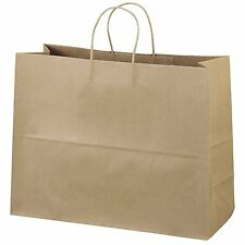 """16x612"""" Natural kraft paper bag with two rope handle"""