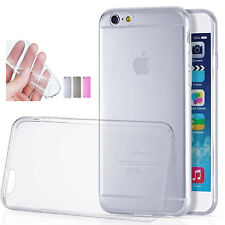 Ultra Thin Clear Crystal Rubber TPU Silicone Soft Case For Apple iPhone 6 6S 4.7