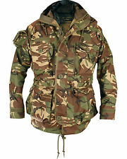 British Army Special Forces  SAS Style Assault Hooded Smock Jacket - DPM Camo