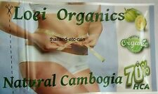 100% PURE GARCINIA CAMBOGIA HCA 70% WEIGHT LOSS,DIET,FAT BURN,SLIM,NATURAL,ORGA