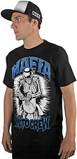 MSR Black/Blue Ride or Die Dirt Bike Mafia Moto Crew T-Shirt 2015 MX ATV