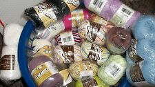 Lily Sugar n Cream 2- 2.5 oz skeins assorted colors you choose w combined ship