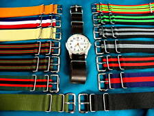 PREMIUM MILITARY STYLE G-10 WATCH BANDS / STRAPS, FREE DOMESTIC SHIPPING!
