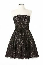 ROBERT RODRIGUEZ Target Neiman Marcus Black Lace Dress 2 4 6 8 10 12 14