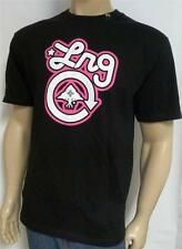 LRG Classic Logo Graphic Tee Mens Black Crew T-Shirt 100% Cotton New NWT