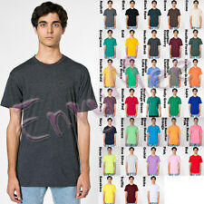 American Apparel BB401 Poly-Cotton Short Sleeve Crew Neck Tee T-Shirt