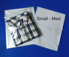 100 9x12 Clear Poly Bags Open Top Plastic Baggies T-Shirt Dress Garmets Sweater
